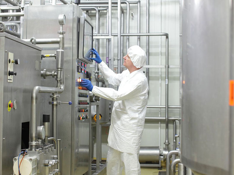 Application Food processing industry